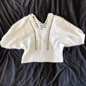 Alberto Makali Embellished Sweater